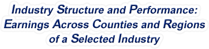 Connecticut - LSGL Analysis of County Real Earnings Growth by Selected Industry, 1969-2015